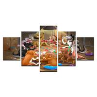 yapay elmas diy sanat el sanatları toptan satış-5d diy elmas nakış Ev Dekor Sanat Köpekler Iskambil Kartları 5d elmas boyama Çapraz Dikiş tam yuvarlak Taklidi mozaik El Sanatları