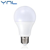 Wholesale 9w Blue Led Spotlight Bulbs - YNL Smart IC LED Lamp Bulb E27 AC 220V-240V Real Power 3W 5W 7W 9W 12W High Brightness Lampada LED Bulb E27 Bombillas Spotlight