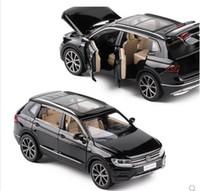 autos großhandel-Neue 1/32 Tiguan L Diecast Metall SUV Legierung Automodell Für Kinder Sammlung Original Box Weihnachtsgeschenke