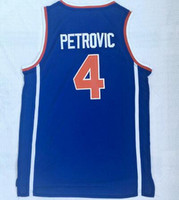 Wholesale discount mens shirt resale online - Fashion new men Croatian league Piderovi blue jersey Blue Basketball jersey shirts Discount Cheap mens blue Trainers Basketball wear