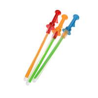 klebemaschine großhandel-46 cm Lange Bubble Machine Gun Bar Sticks Ohne Wasser Western Schwert Form für Kinder Seifenblase Spielzeug Outdoor-spielzeug