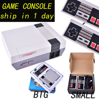 Wholesale Mini Wi - Mini TV Game Console can store 500 620 Video Handheld for NES games consoles with retail boxs free shipping OTH733