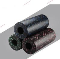 ingrosso rullo di massaggio di schiuma di yoga-14 * 33 CM EPP Foam Roller Yoga Palestra Esercizi Rullo di Schiuma Attrezzature per il Massaggio per il Rilassamento Muscolare Attrezzature per il fitness 30 pz OOA5037