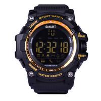 ingrosso i migliori prezzi delle telecamere-Smart Watches 2018 Nuovo EX16 Relogio Multifunzione impermeabile Remote Camera Miglior Prezzo per Android iOS Watch