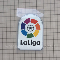 sıcak baskılar toptan satış-Yeni La Liga LFP yama futbol Baskı rozetleri yamalar, Futbol Sıcak damgalama Yama Rozetleri