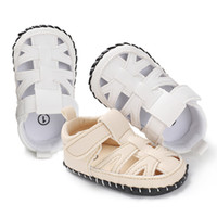 Wholesale model t male - Explosion models baotou baotou male and female baby 2018 summer new comfortable soft baby shoes