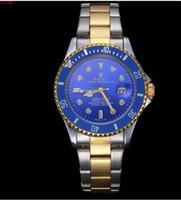 ingrosso la pelle della vigilanza del quarzo-Il nuovo calendario delle merci di qualità orologio per uomo tempo libero contratto acciaio striscia impermeabile orologio al quarzo cintura di pelle maschile