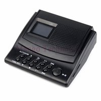 Wholesale Best Digital Recorders - Y4308Z Best Professional Digital Voice Recorder Phone Call Monitor with LCD Display+Caller ID+Clock 110V 220V Telephone Recorder