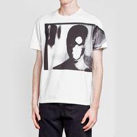 camisetas de viaje al por mayor-18SS Raf simons Vintage T-shirt Tops Moda Personaje Imprimir Casual Street manga corta verano transpirable viaje al aire libre Tee HFYMTX351