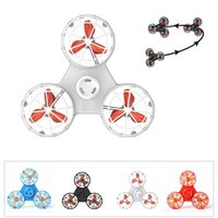 Wholesale fidget spinner online - Fly Fidget Spinner Toy Pressure Reliever Toys Flying Spinner For Autism Anxiety Stress Release Toy Automatic Rotatable Toys