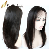 Wholesale indian sweets - Soft and Sweet Straight Human Hair Wig for Students Natural Hairline Glueless Full Lace Wigs Lace Front Wigs with Baby Hair for Women