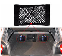 Wholesale seat sticks resale online - Auto Seat Back Storage Mesh Net Bag Car Magic Sticking Holder Pocket Trunk Organizer