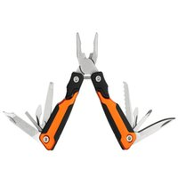 Wholesale Function Training - 13-in-1 Material Multi-Function Outdoor 2Cr13 Survival Knife Self-Defense Training Mini Portable Folding External Spring Pliers Chuck