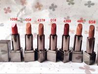 магазин помады оптовых-7 цветов новый британский бренд B-berry макияж матовая помада 1 г / шт размер образца бархатная помада увлажняющий бесплатные покупки