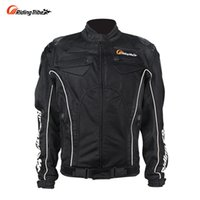 Wholesale pieces automobiles - Riding Tribe motorcycle protector clothing automobile race motorcycle ride automobile race clothes five pieces protection JK 08