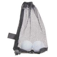 naylon çanta taşımak toptan satış-Golf Topları Tutucu Açık Spor Naylon Mesh Nets Çanta Kılıfı Masa Tenisi 15 Topları Depolama Saklama Torbaları Tutun