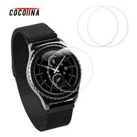 Wholesale rubber glass screen - COCOTINA Tempered Glass Film Screen Protector for Samsung Gear S3 Classic Frontier LSB01115