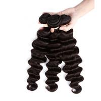 малайзийские распущенные наращивания волос оптовых-Необработанные бразильские Свободная волна человеческих волос 8A перуанский Индийский Малайзии волос Свободная волна Kinky вьющиеся объемная волна наращивание волос