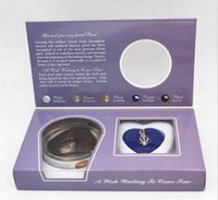 Wholesale wish pearl kit resale online - Great Xmas Gift Love Wish Pearl Kit Heart Cage chain Necklac Maple Leaf GH7