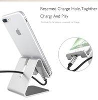 metall-handy-halter großhandel-Handyhalter Al-Legierung Tischhalterung faul Ladetelefon Tablet Universalhalterung Metallhalterung
