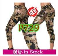 frauen strickhosen großhandel-ADIBAO Womens Gestrickte Baumwollhose laufende Kleidung Hosen Leggings P672 P729