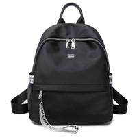 британские школьные сумки оптовых-Нейлоновый рюкзак девушка новая корейская мода дикая сумка старшеклассников британский ветер рюкзак
