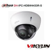 водонепроницаемая камера dahua оптовых-Dahua POE IPC-HDBW4433R-S 4MP IP-камера поддержка IK10 IP67 водонепроницаемый с SD слот для карты H265 CCTV купольная камера