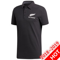 Wholesale new zealand clothing for sale - Newest New Zealand All Blacks Black jersey Super Rugby Jerseys All Blacks shirt Casual clothes s xl