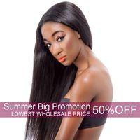 Wholesale brazilian wavy braiding hair online - Unprocessed Brazilian Virgin Hair Bundle Deals Wet and Wavy Body Wave Hair Weaves Remy Human Extensions Bundles braiding hair Weft