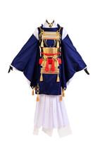 cosplay de touken ranbu venda por atacado-Touken Ranbu Mikazuki Munechika Traje Cosplay