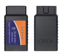 audi elm327 bluetooth großhandel-ELM 327 Bluetooth OBD II Scanner Elm327 BT OBDII Scan-Werkzeug Die neueste Version ELM327 Bluetooth