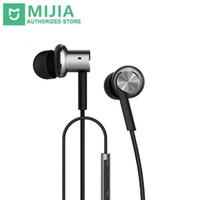 huawei dual android телефоны оптовых-Xiaomi Hybrid наушники Mi In-Ear наушники поршневые 4 двойные драйверы с микрофоном для телефона Xiaomi Huawei Android телефоны