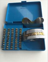 ingrosso macchina di timbratura in ottone-termofissaggio alfabeto set pressa di calore FR900 FR770 alfabeto set data codifica lettera numeri numero di ottone per FR770