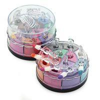 lidschatten pigment kits großhandel-Ramona Lidschatten Glitter Pulver Pigment Palette Makeup Set Kit Farbe 20 Farben Birthday Edition Lidschatten