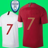 Wholesale foot patches - with patch 2018 soccer jersey world cup Andre sliva football shirt MOUTINHO Camisa BERNARDO MARIO QUARESMA maillot de foot