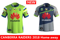 Wholesale Raiders Jerseys - Hot sales new CANBERRA RAIDER S 2018 Home away rugby Jerseys NRL National Rugby League rugby shirt nrl jersey canberra raider s shirts