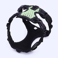 Wholesale 2018 new Dog Harness With Reflected at night Straps Medium and large dogs explosion proof chest strap
