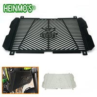 Wholesale radiator guards for sale - High Quality Stainless Steel For Kawasaki Z900 Motorcycle Radiator Grille Guard Radiator Grille Cover Protector