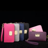 Wholesale vintage trunk purse - 2018 New Luxury Brand New Style Women Wallets Real Leather Zipper Wallet Women's Long Design Purse M Wallets K