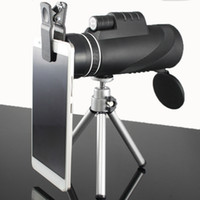 Wholesale Field Professional - High Quality Monocular 40x60 Powerful Binoculars Zoom Field Glasses Great Handheld Telescope Military HD Professional Hunting