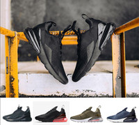 Wholesale Lace Punch - With box 2018 Newest 270 Flair Hot Punch Triple Black Medium Olive Midnight Navy Women Mens Men Running Shoes Trainers sports Sneakers