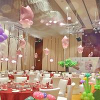 düğün rengi için balonlar toptan satış-Parti Dekorasyon 12 Inç Lateks Yuvarlak Parti Balon Düğün Balon Dekorasyon Balon Parti Malzemeleri 100 adetgrup 14 renk