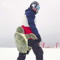 équipement de massage achat en gros de-Tortue Coccinelle Ski Patinage Protection Fesses Pads Pour Adultes Doux Bande Dessinée Mignon Hip Oreiller Ski Protection Outil 80ts