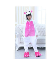 Wholesale Cute Women Pajama - free shippingChildren Pajamas Unicorn Pyjamas Kids Pajama One piece Cartoon Pajama Unisex Warm Winter Cute Pijamas Unicornio pijama infantil