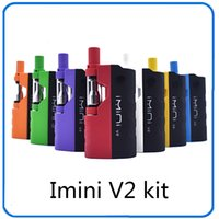 Wholesale batteries fit v2 for sale - Group buy Preheating Battery Imini V2 mAh Box Mod Battery for Thick Oil Cartridges Vaporizer Thread battery fit all tank
