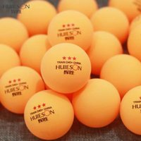 Wholesale table tennis balls stars for sale - Group buy Huieson Pack g Table Tennis Balls Star ABS Plastic New Material Ping Pong Balls Table Tennis Training Ball