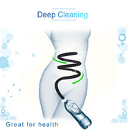 Wholesale toy washer for sale - Silicone Anal Cleaning Connect With Bottle Anal Washer Enema Vagina Medical Themed Toys Enema Cleaner With Long Tube Sex Toys
