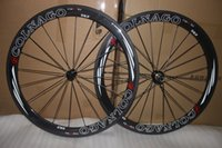 Wholesale Colnago Road Bicycle - Super light! COLNAGO road carbon wheels 50mm clincher clincher carbon wheelset 50mm 700C road bike full carbon fiber road bicycle wheels