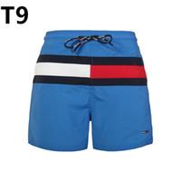 yeni erkek pantolon toptan satış-Yeni Mayo Kurulu Şort Erkekler pantolon Yaz Plaj Şort Yüksek Kaliteli Erkek Mektup Sörf Hayat Erkekler Yüzmek Sıcak