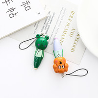 Wholesale wood pen animals resale online - 2 Set Cartoon Wood Animal ballpoint pen Creative Pen Office Tools School stationery Supplies gift for boys and girls